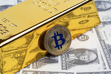 对比黄金和原油,比特币到底是商品、货币还是避险性资产?