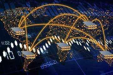 """""""新基建""""中区块链的位置:基础设施的基础技术"""