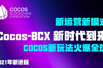 Cocos-BCX 新春 NFT 五福盲盒挖矿等活动参与人数已超23万人