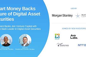Securitize 完成 4800 万美元 B 轮融资,Blockchain Capital 和摩根士丹利联合领投