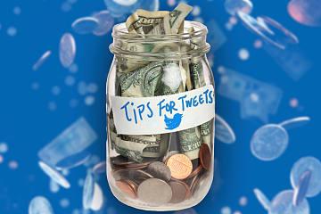 "Twitter""Tip Jar""功能将允许用户使用比特币""打赏""内容创作者"