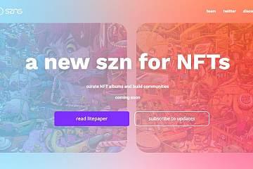 NFT碎片化服务SZNS获得400万美元融资,Framework Ventures和Dragonfly Capital领投