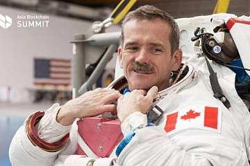 2020 亚洲区块链峰会今日正式开幕,宇航员 Chris Hadfield 将获赠人生首枚比特币