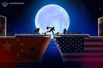 中国在区块链相关投资方面正迅速赶超美国?