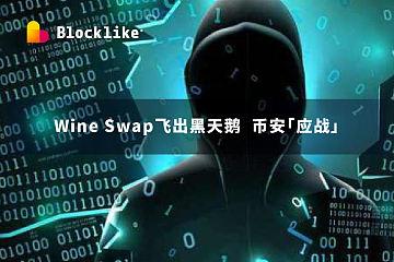 Wine Swap飞出黑天鹅,币安「应战」丨行业