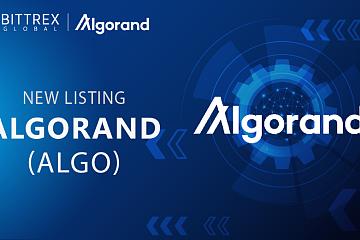 Bittrex Global上线Algorand (ALGO)通证