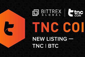 Bittrex Global上线TNC Coin (TNC)通证