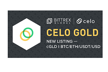 Bittrex Global上线Celo Gold (cGLD)通证