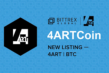 Bittrex Global上线4ARTCoin (4ART)通证