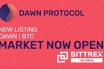 Bittrex Global上线Dawn Protocol (DAWN)通证