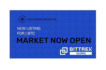Bittrex Global上线Force Protocol (FOR)通证