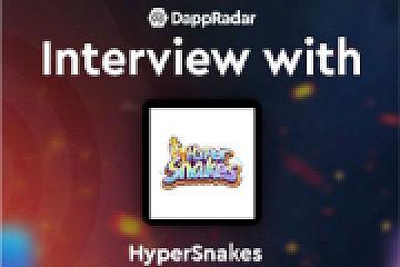 DappRadar对话区块链游戏HyperSnakes