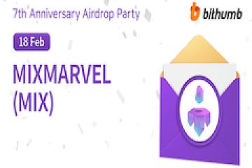 MixMarvel参与Bithumb 7周年庆典活动战报