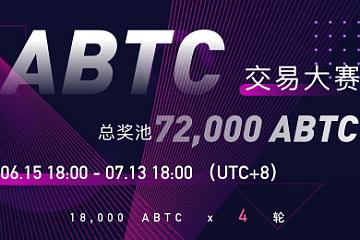 关于LBank开启「ABTC交易大赛」瓜分72,000 ABTC福利活动的公告