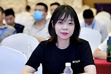 挖币网2020年度数字矿业峰会专访比特小鹿CEO孟晓妮