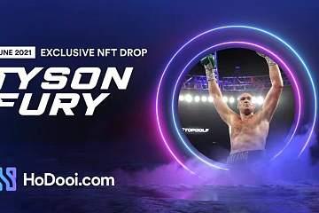 拳王泰森与HoDooi.com合作打造NFT领域的eBay